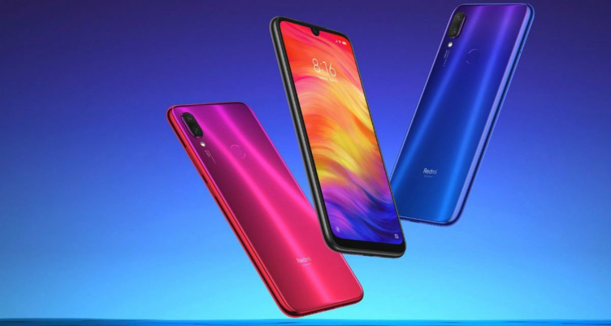 El Xiaomi Redmi Note 7 Pro podrá repeler el agua