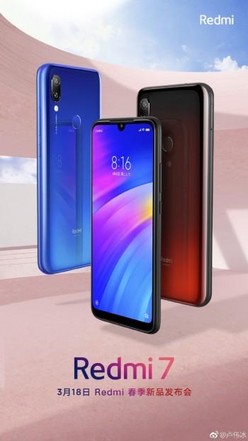 Xiaomi Redmi 7 presentación
