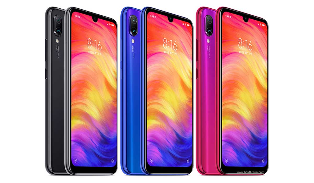 xiaomi redmi note 7 colores