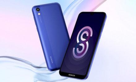 Honor 8S, nuevo gama baja de Honor que rivalizará con el Redmi 7