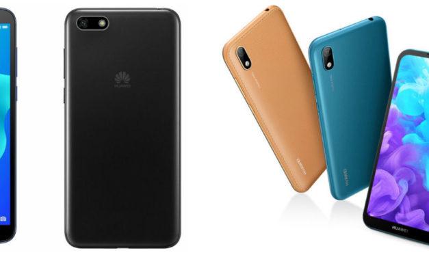 Las cinco diferencias entre el Huawei Y5 2018 y Y5 2019