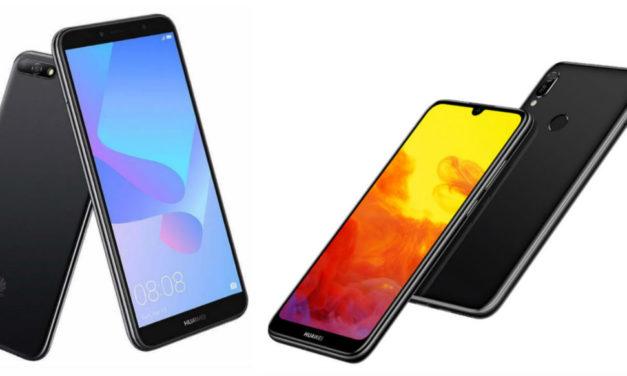 Comparativa Huawei Y6 2018 vs Huawei Y6 2019