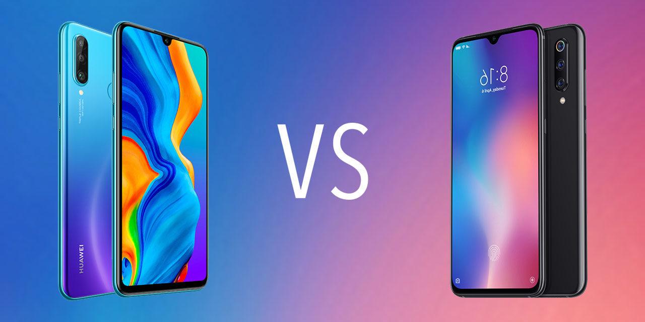 Comparativa Huawei P30 Lite vs Xiaomi Mi 9 SE