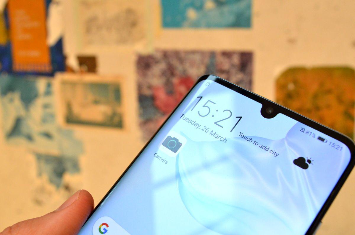 Huawei P30 Pro pantalla