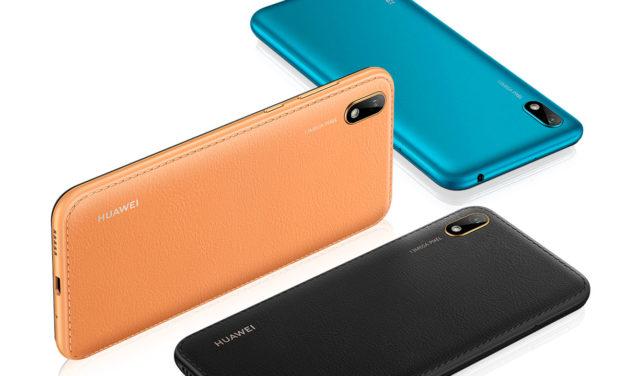Huawei Y5 2019, móvil de gama de entrada com diseño de cuero
