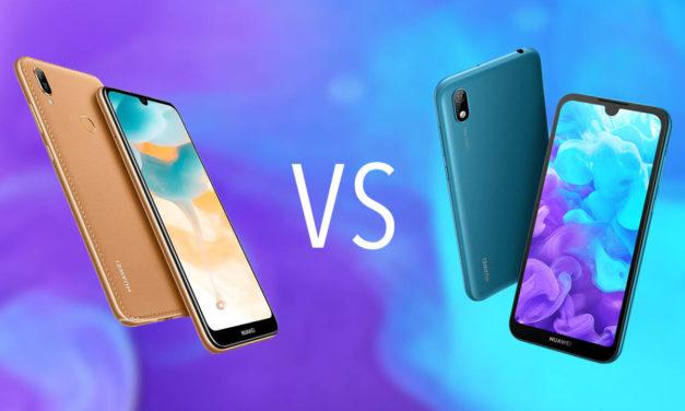 Comparativa Huawei Y6 2019 vs Huawei Y5 2019