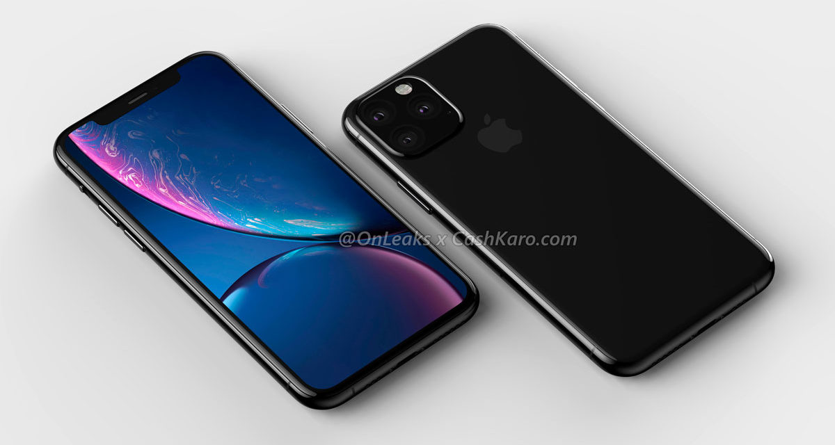 Se filtran nuevas imágenes del iPhone XI 2019 y el XI Max 2019
