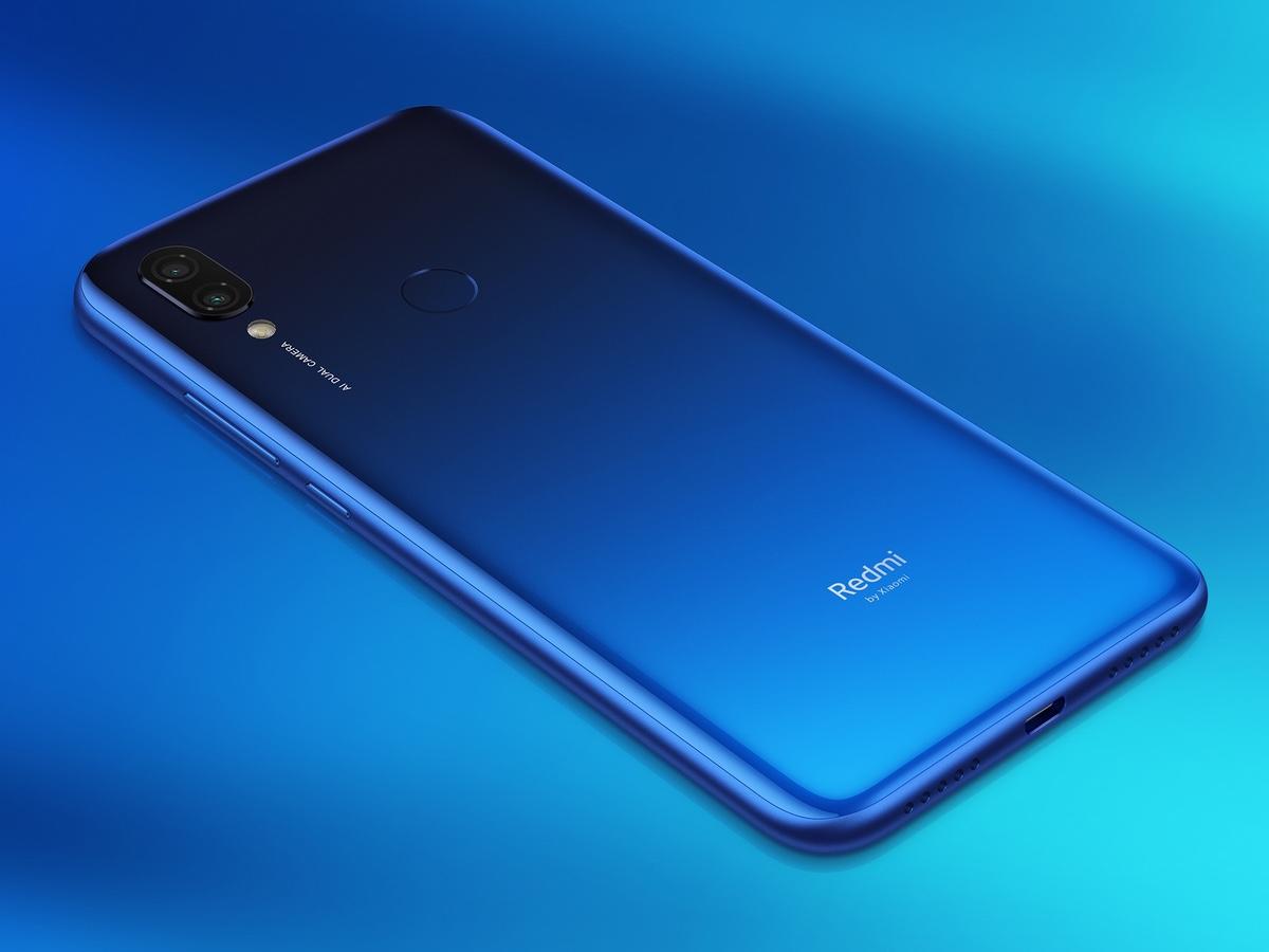Lanzamiento España Xiaomi Redmi 7 trasera