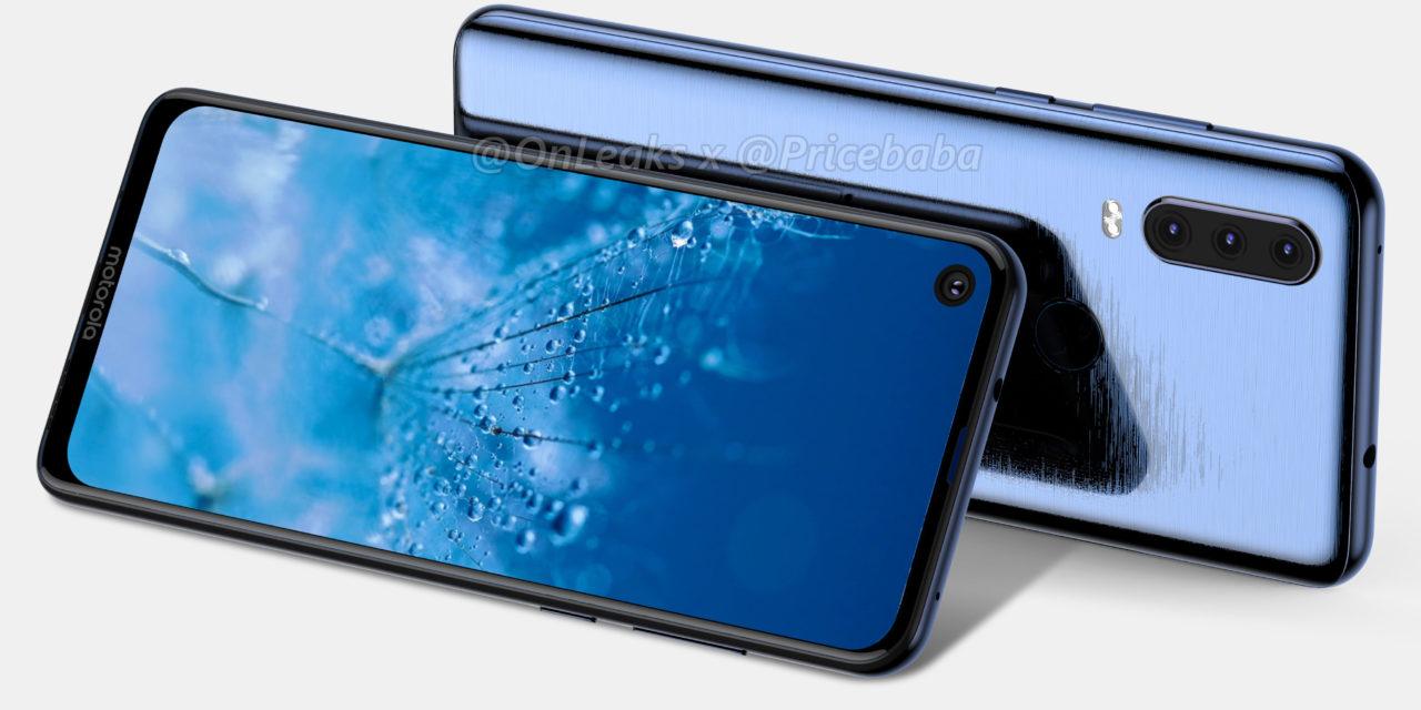 Motorola Moto G8, estos son los primeros renders