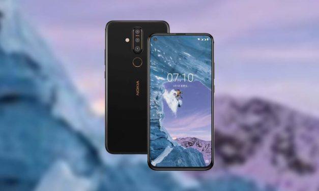 Nokia X71, gama media con agujero en pantalla y triple cámara