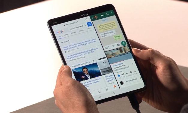 Samsung podría haber resuelto los problemas de pantalla del Galaxy Fold