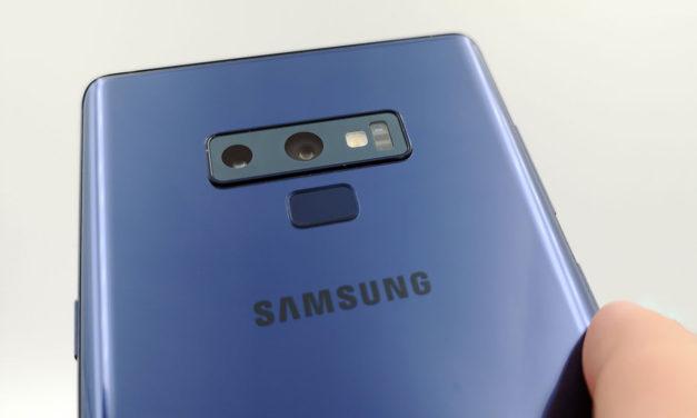 El Samsung Galaxy Note 9 se actualiza con mejoras en la cámara frontal