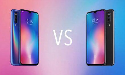 Comparativa Xiaomi Mi 9 vs Xiaomi Mi 9 SE