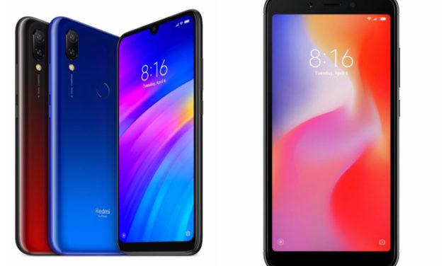 5 diferencias entre el Xiaomi Redmi 7 y Xiaomi Redmi 6