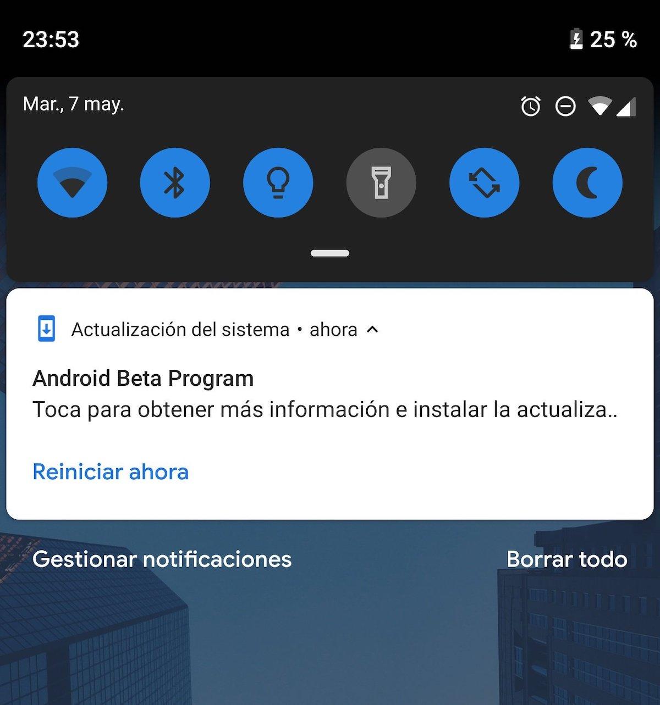 android q instalar google pixel