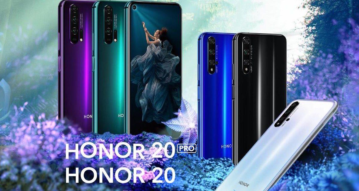5 diferencias entre el Honor 20 y el Honor 20 Pro