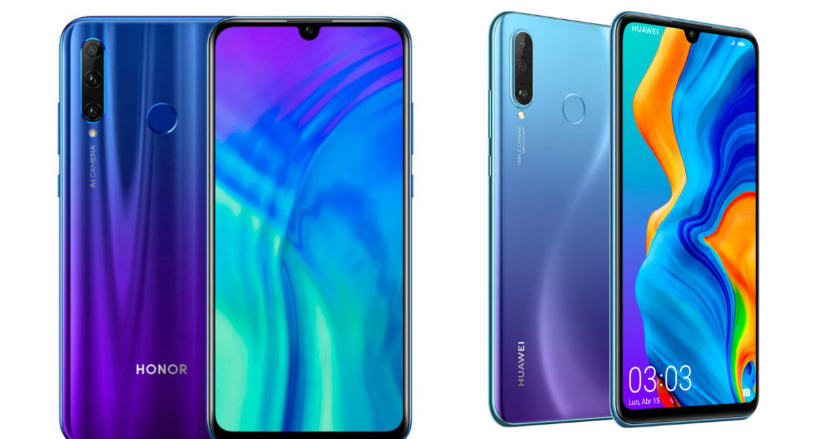Comparativa Honor 20 Lite VS Huawei P30 Lite