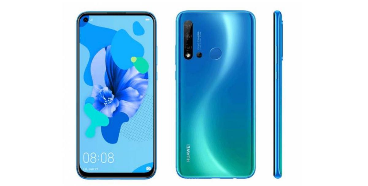 Se filtra el Huawei P20 Lite 2019 con cuatro cámaras y agujero en pantalla