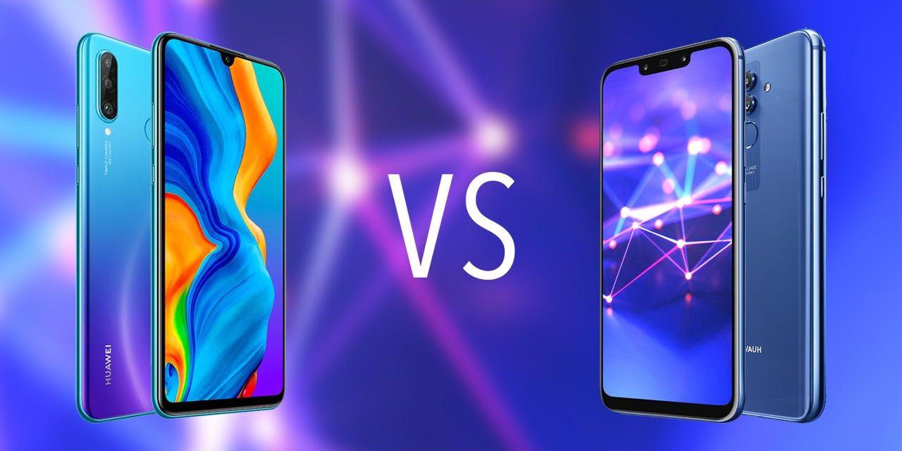 Comparativa Huawei P30 Lite vs Huawei Mate 20 Lite