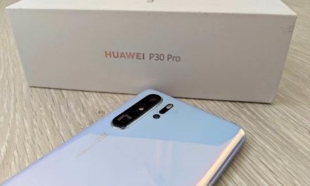 El Huawei P30 Pro se actualiza con mejoras en pantalla, Bluetooth y mucho más