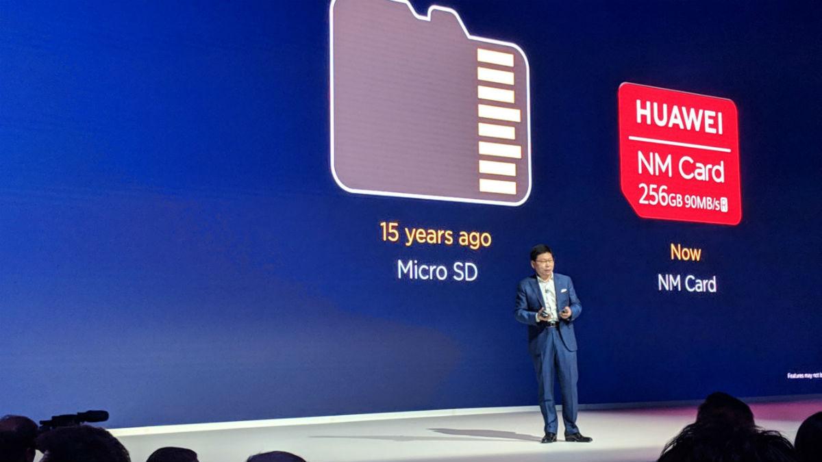 No, los móviles Huawei no se quedarán sin tarjetas SD