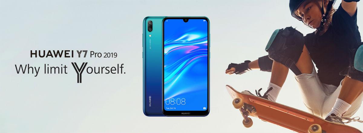 Huawei Y7 Pro, gama media con doble cámara y 4.000 mAh