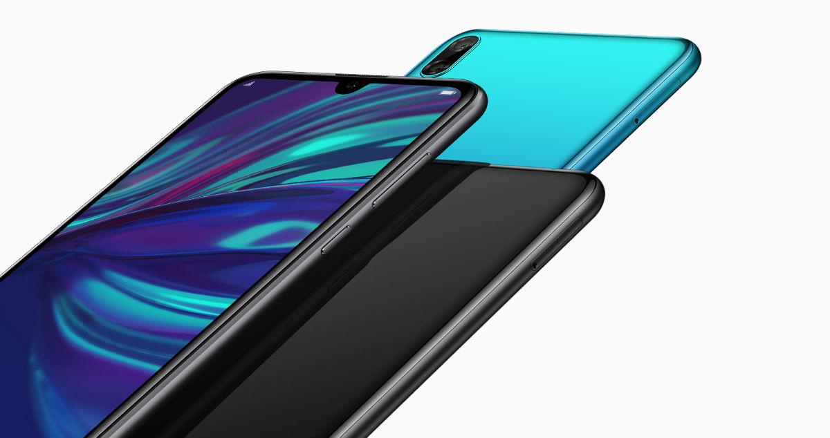 Huawei Y7 Pro 2019 diseño