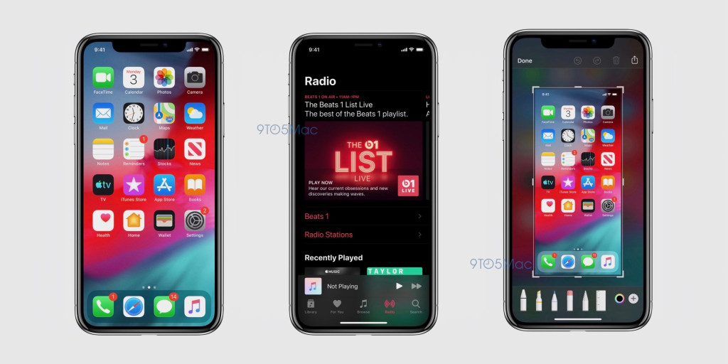 Se desvelan detalles de la interfaz y apps de iOS 13