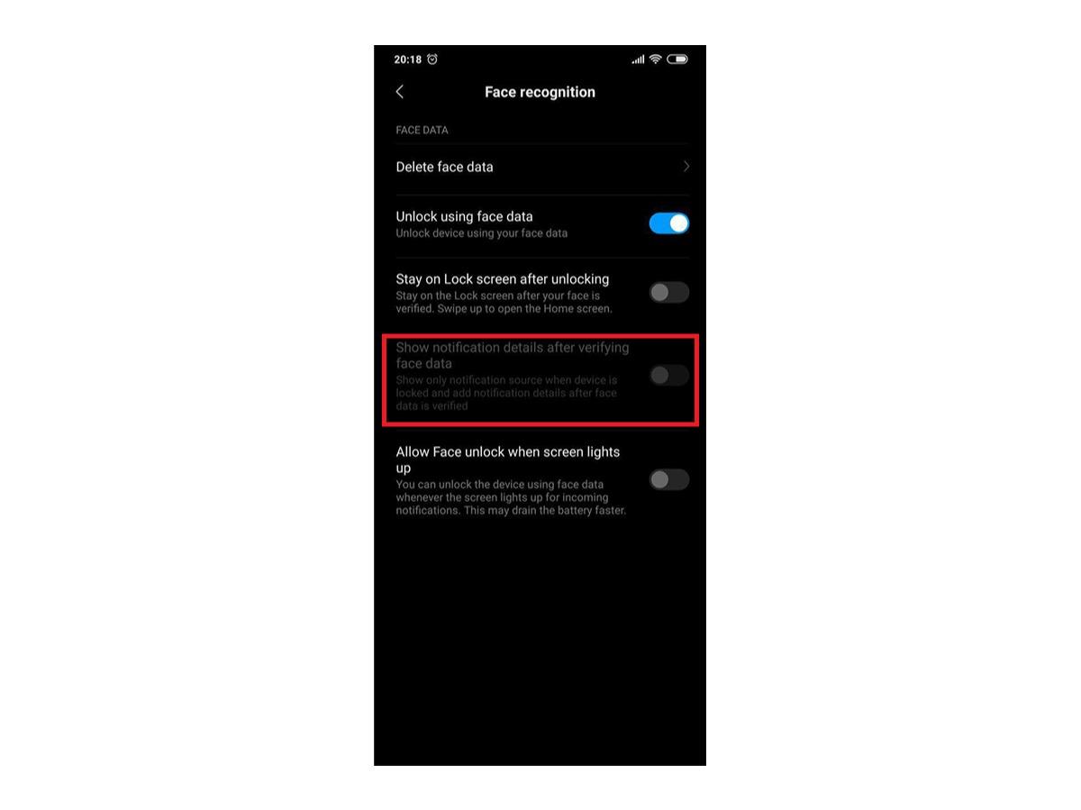 Mejoras actualización MIUI 10 opción