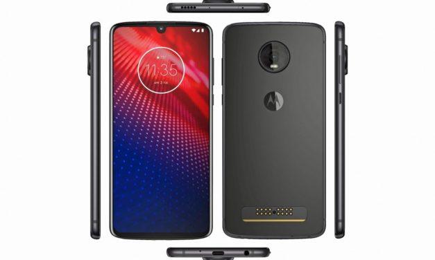 El Motorola Moto Z4 se deja ver en una imagen oficial