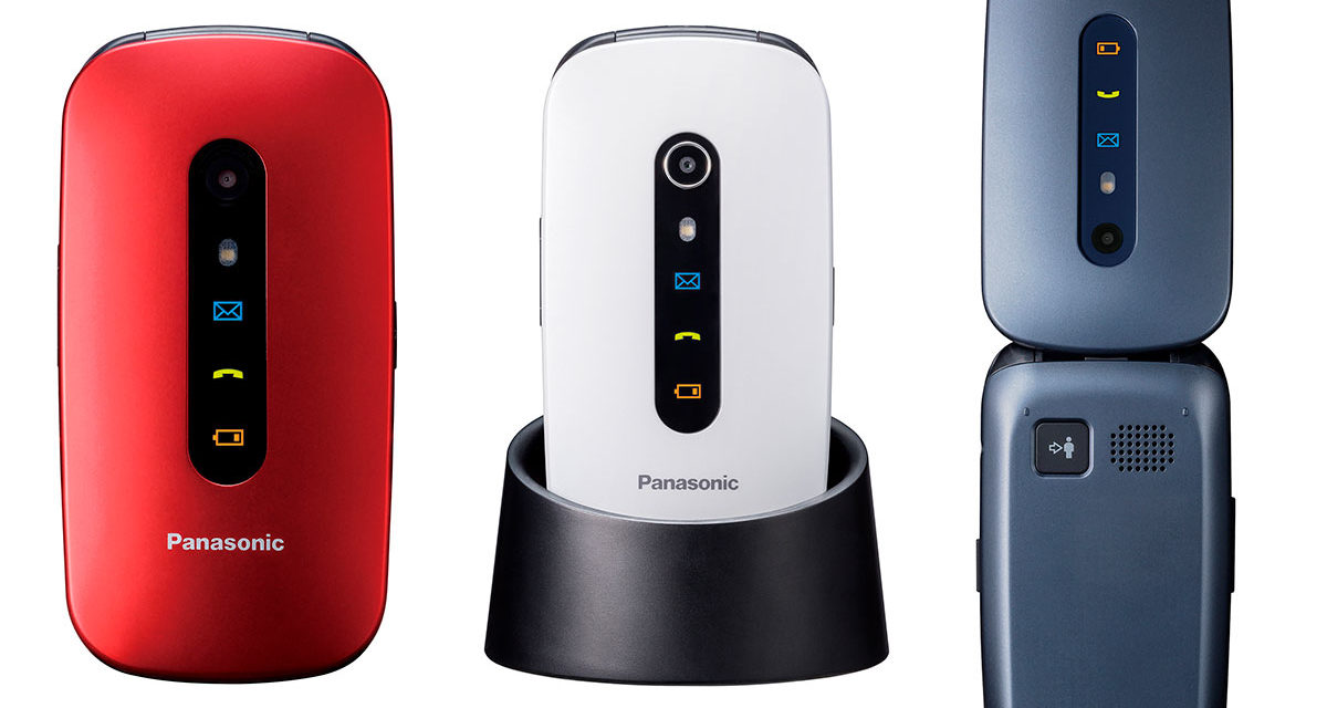Panasonic KX-TU466 y KX-TU456, móviles para mayores fáciles de usar