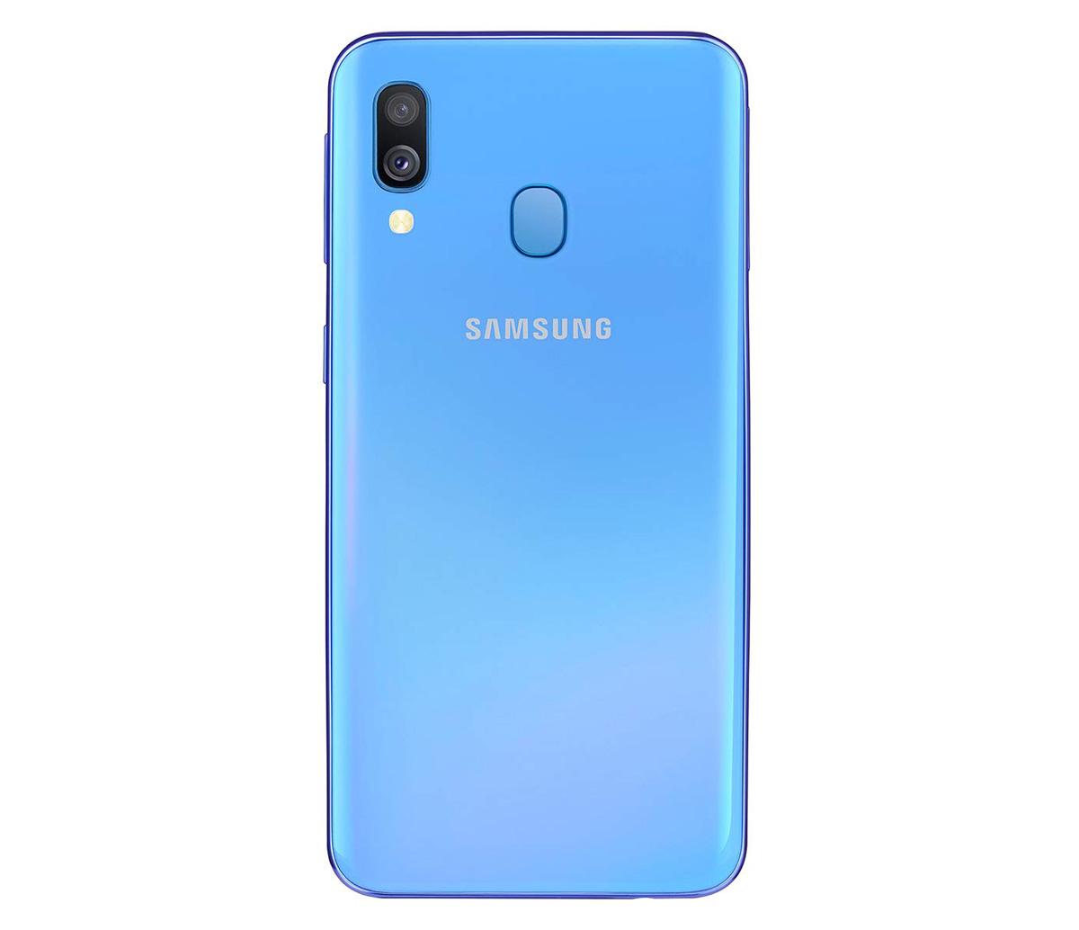 Samsung Galaxy A40 diseño