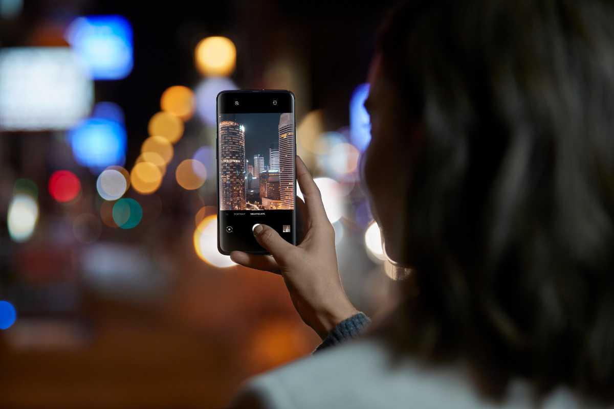 OnePlus 7 diseño