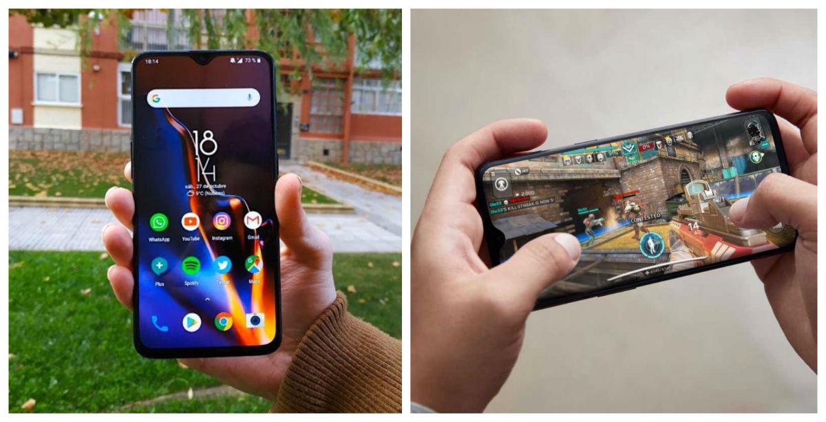 5 diferencias entre el OnePlus 6T y OnePlus 7