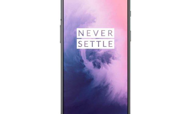 OnePlus 7, pantalla panorámica, doble altavoz y doble cámara