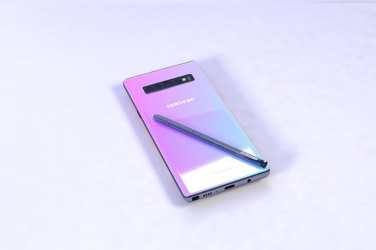 Samsung Galaxy Note 10: almacenamiento UFS 3.0 y batería más grande, según rumores
