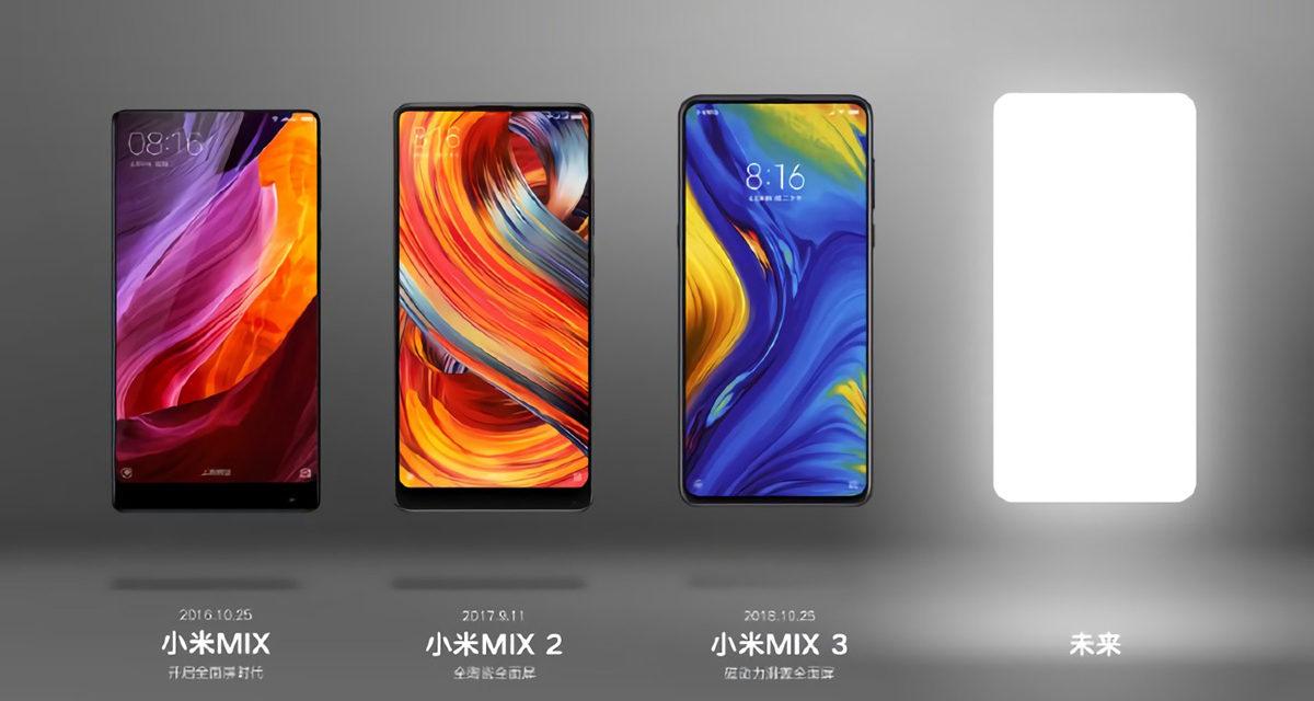 Primeras características del posible Xiaomi Mi Mix 4
