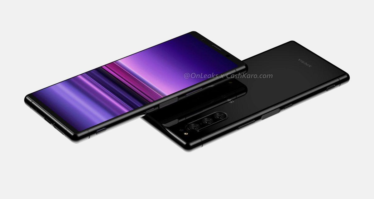 Sale a la luz el posible diseño del Sony Xperia 2 con triple cámara