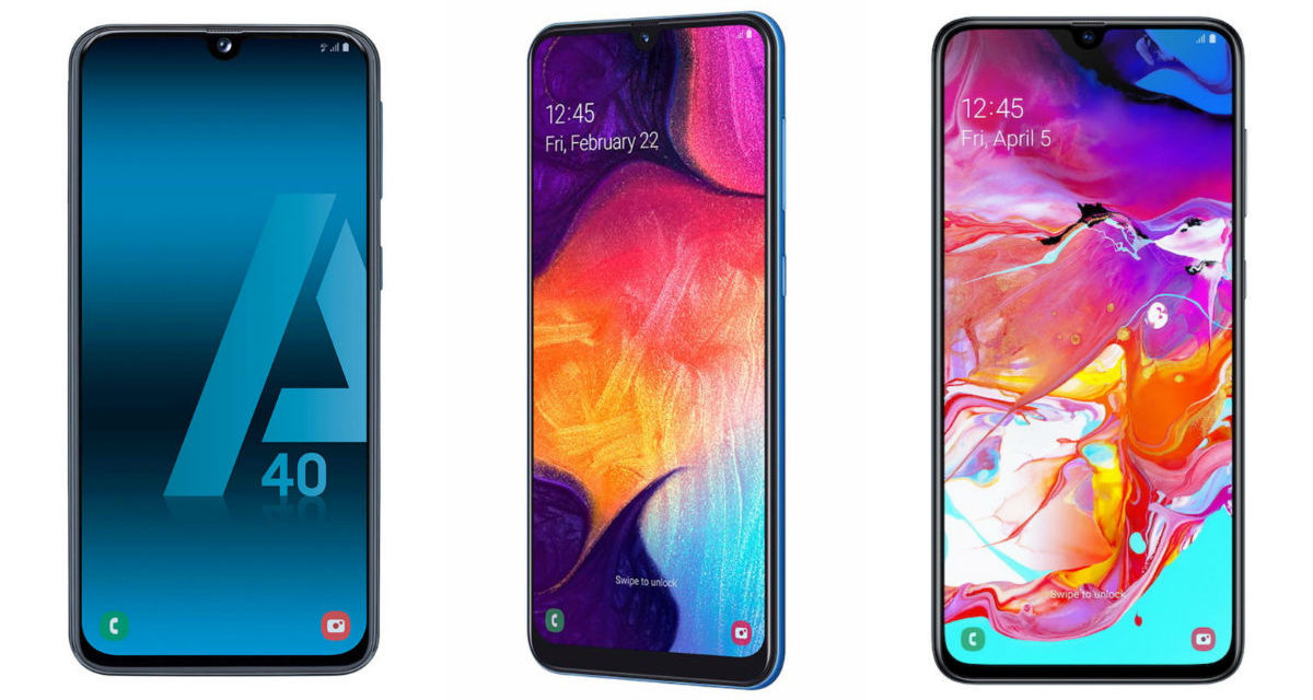 Samsung Galaxy A40, A50 o A70, ¿qué móvil comprar en 2019?