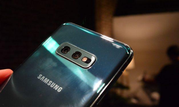 Cómo usar la cámara gran angular del Samsung Galaxy S10 en WhatsApp