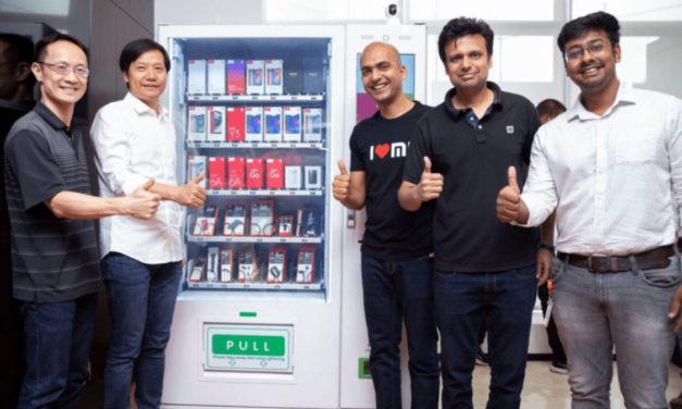 Xiaomi comenzará a vender teléfonos en máquinas expendedoras