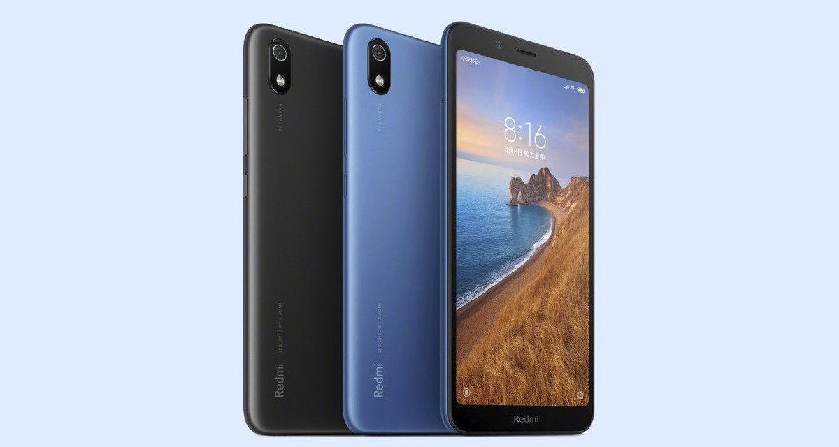 Xiaomi Redmi 7A es oficial: 5,45 pulgadas, 4.000 mAh y Snapdragon 439