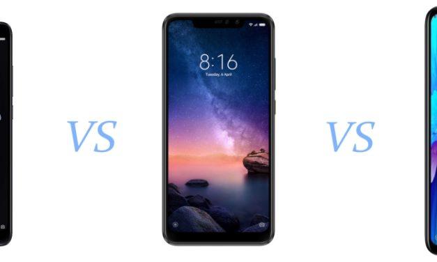 Xiaomi Redmi Note 7, Note 6 Pro o Note 5, ¿qué móvil comprar en 2019?