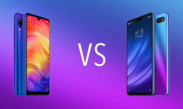 Comparativa Xiaomi Redmi Note 7 vs Xiaomi Mi 8 Lite
