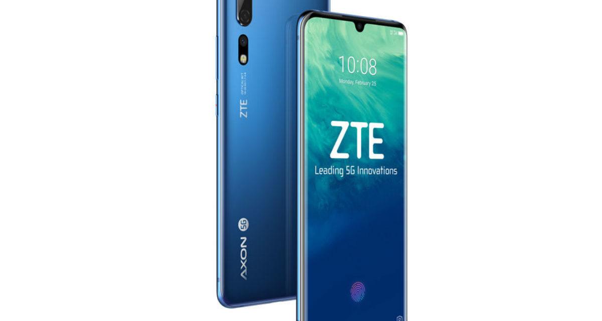 ZTE Axon 10 Pro, primer móvil con tecnología 5G y Snapdragon 855