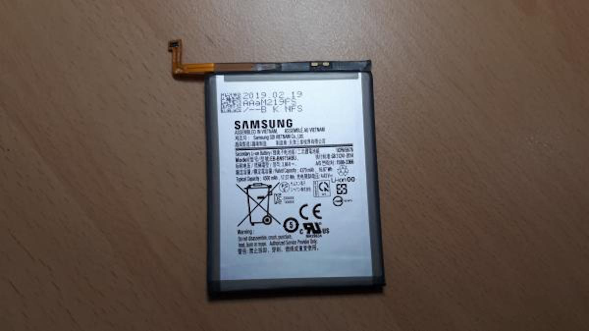 bateria galaxy note 10