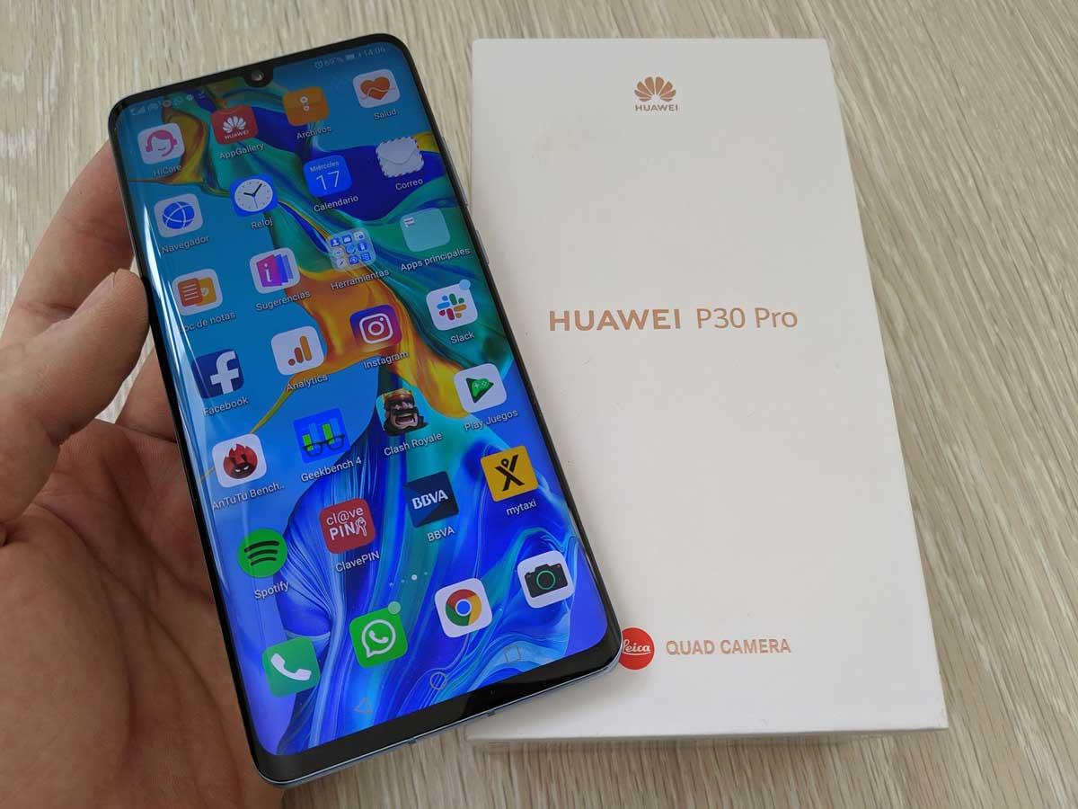 Cómo forzar el reinicio del Huawei P30, P30 Pro y P30 Lite