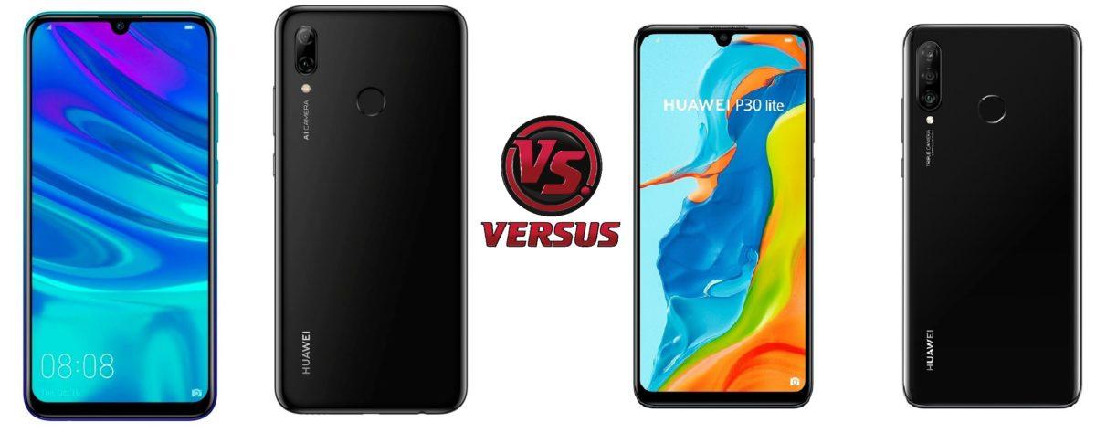 Comparativa Huawei P Smart 2019 vs Huawei P30 lite