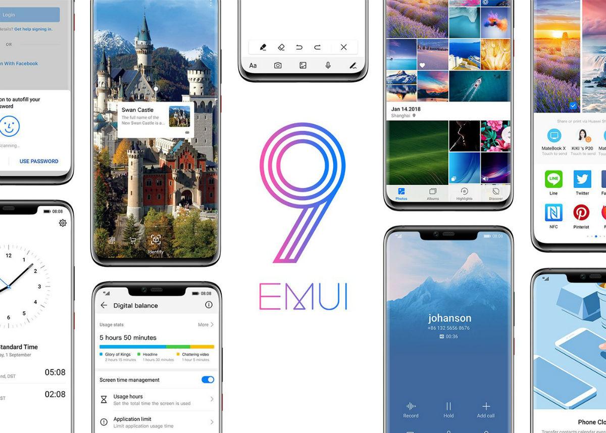 Estos son los móviles de Huawei que podrán actualizarse a EMUI 9.1