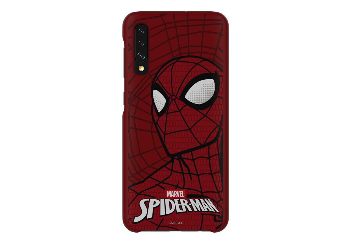 fundas Marvel para Samsung Galaxy A50 Spider-Man